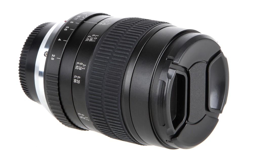 60mm f/2.8 2:1 Super Macro Manual Focus Lens for Nikon F Mount D70 D50 D30 D800 D700 DSLR 6