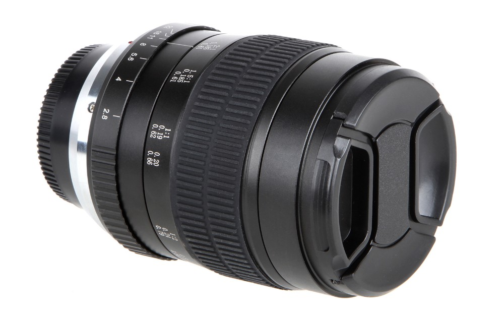 60mm f/2.8 2:1 Super Macro Manual Focus Lens for Nikon F Mount D70 D50 D30 D800 D700 DSLR 6