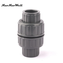 garden hose check valve. 1pcs NuoNuoWell PVC Waterstop Connector Garden Irrigation Watering Check Valve Hose End Tap Adapter Pipe U