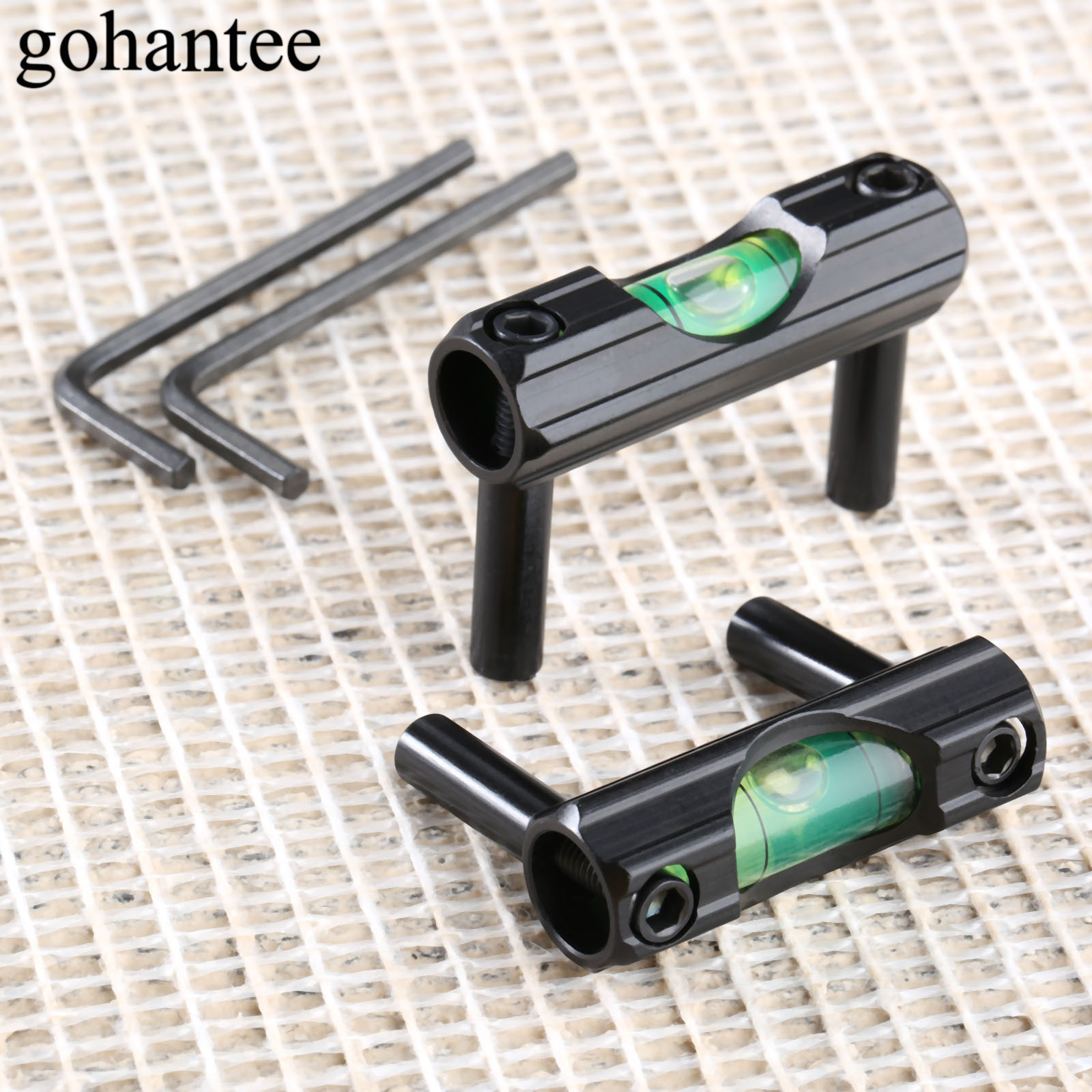 Gohantee Universal Flat Anti Cant Device ACD Rifle Scope Bubble Level Mount Hunting Riflescope Accessories 25.4mm 1