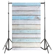 Etc-3x5ft светло-голубой деревянные стены этаж фон Фоны Studio Подставки для фотографий