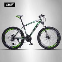 LAUXJACK Mountain Bike Steel Frame 24 Speed Shimano 26 Wheel