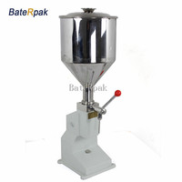 A03 Stainless Steel Manual Paste Liquid Filling Machine Small Bottle Handle Operate Filling Machine 5 50ml