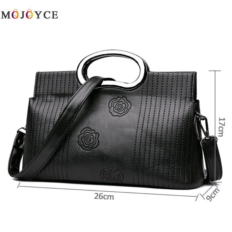 Luxury Brand PU Leather Women Messenger Bag Solid Color Female Shoulder Bag Office Lady Clutch Handbag Bolsa Feminina 6