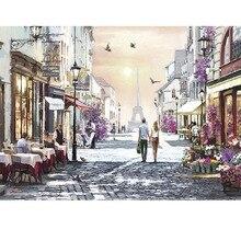 Volwassen 1000 Stuk Romantische Parijs Puzzel Nieuwe aankomst Paar Educatief Puzzels Speelgoed Kerstcadeau voor Valentijnsdag