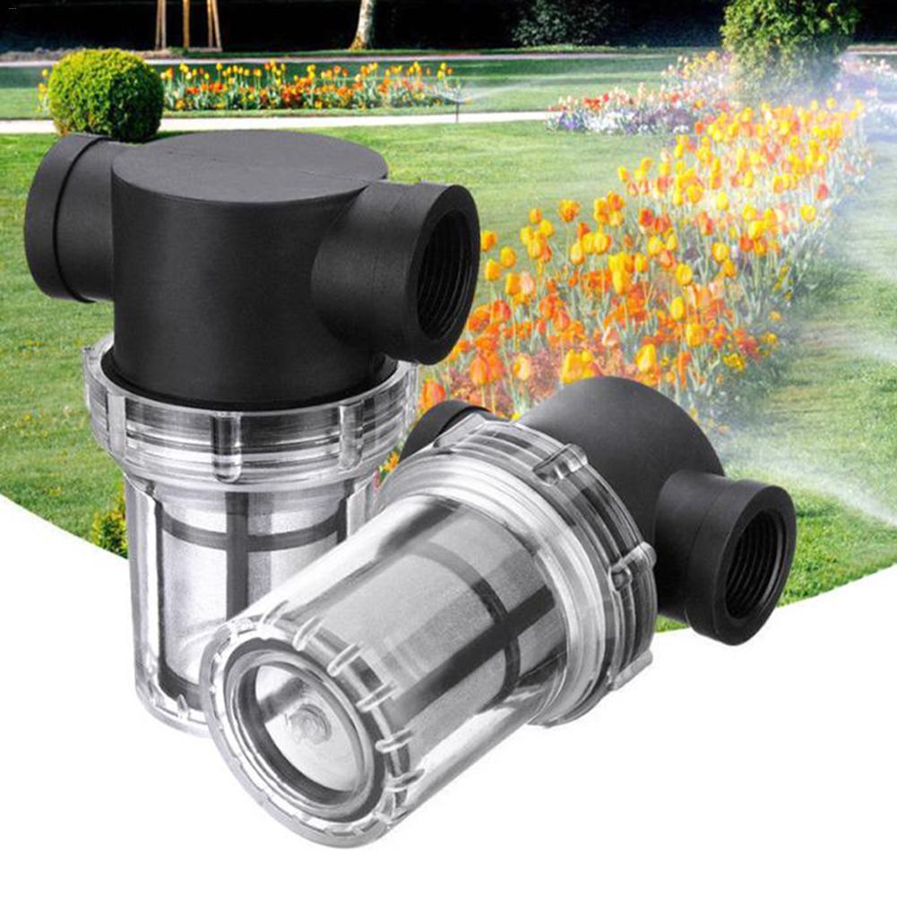 Irrigation Filter Water Pump Purification Garden Interface Strainer Garden Pond Inline Mesh Strainer High Flow Pipeline Filter