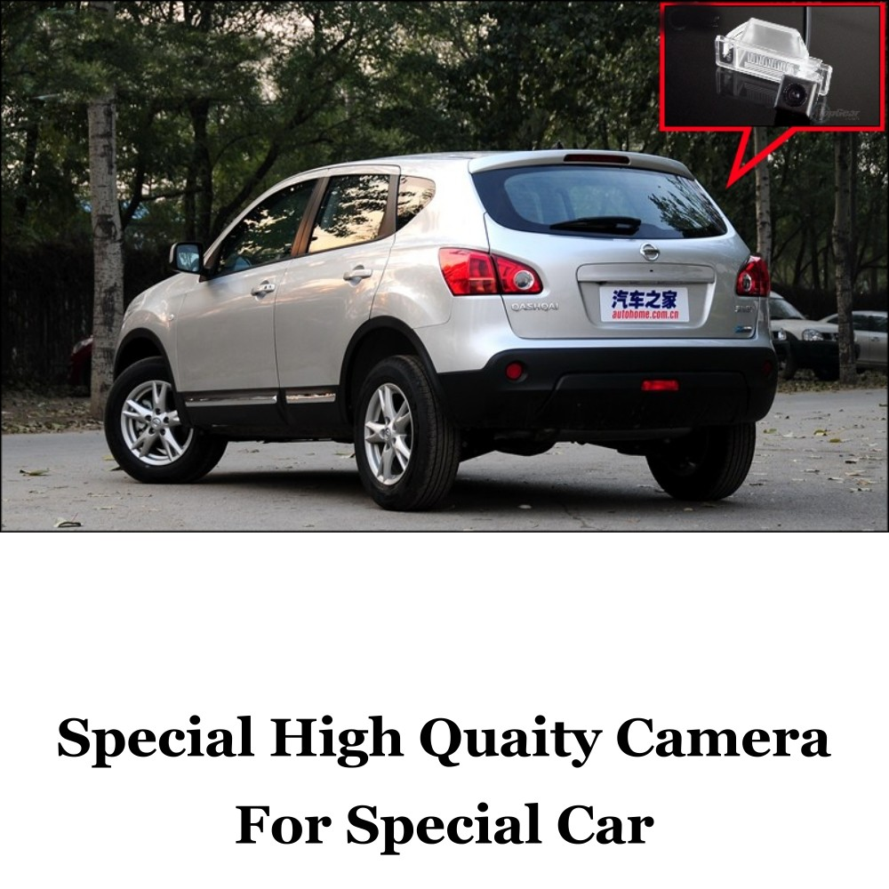 Car Camera For Nissan Qashqai Dualis 2008~2012 High Quality Rear View Back Up Camera For Fans Use  CCD + RCACar