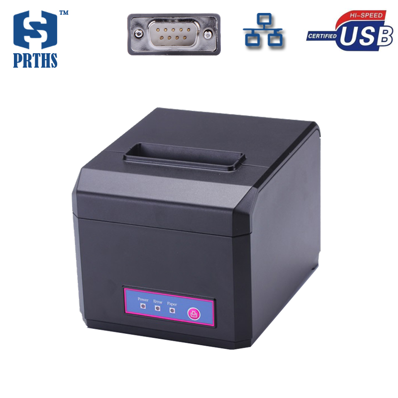 80mm Ethernet thermobondrucker maschine unterstützung LOGO Grafische herunterladen und print 58 & 80mm breite papier druck HS-E81USL