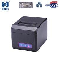80mm impresora térmica de recibos Ethernet soporte de la máquina LOGO Gráfico descargar e imprimir 58 y 80mm de ancho de papel de impresión HS-E81USL