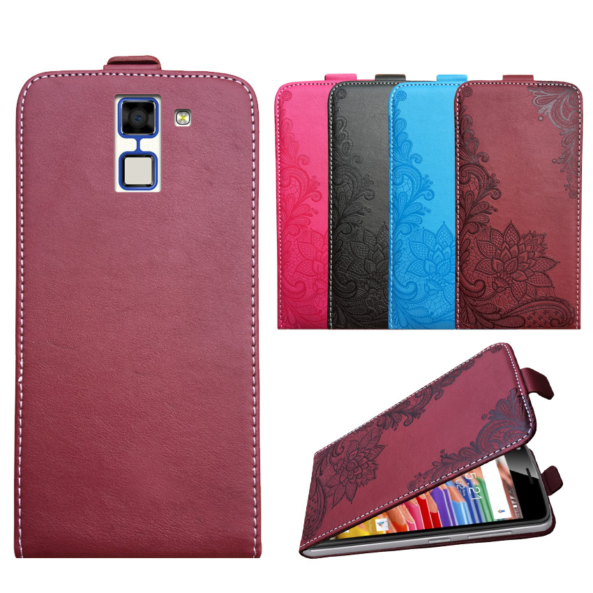 3D Stereo Embossing lace flower butterfly flip up and down leather phone bag cover case for HomTom HT30