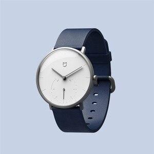 Image 3 - Xiaomi Mijia クォーツスマート腕時計 3ATM 防水歩数計ステンレス鋼ケースインテリジェント振動腕時計防水ギフト