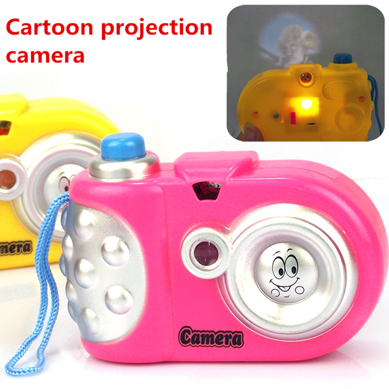 2018 New arrive Toy Cameras  10*7*3cm   Baby Study Toy Kids Projection Camera Educational Toys  for Children Kids Toys Gifts