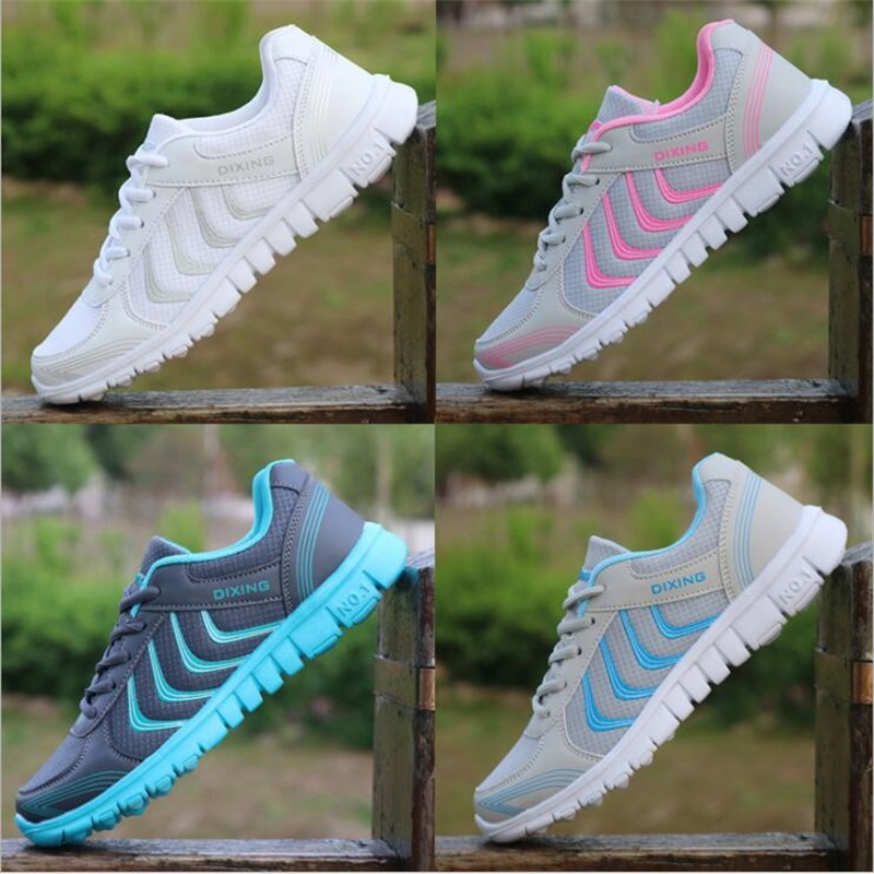 7fe7505cf0e US $11.2 55% OFF|Women Shoes 2019 New Arrivals Fashion Tenis Feminino Light  Breathable Mesh Shoes Woman Casual Shoes Women Sneakers Fast Delivery-in ...
