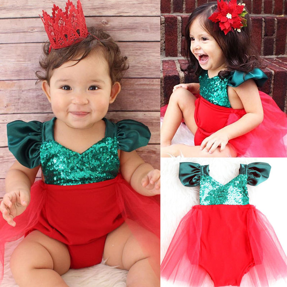 Pudcoco Costume Outfits Tutu Princess-Dress Sequins Baby-Girl Infant Patchwork V-Neck