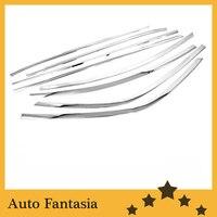 الكروم نافذة جانبية مجموعة كاملة لكيا فورتي سيراتو 09 12-في تصميم كروم من السيارات والدراجات النارية على