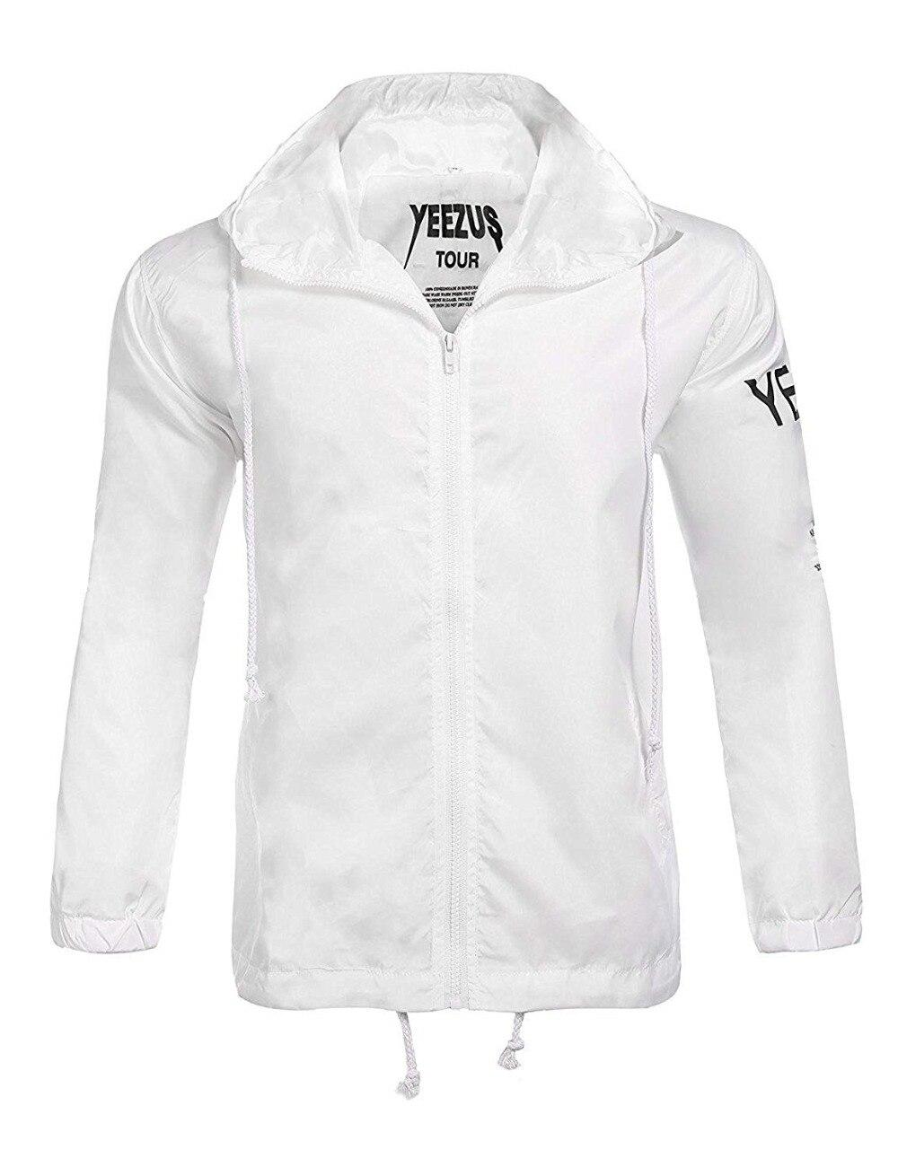 9b627836e Por Yeezus Tour Limited Edition Yzy Streetwear Windbreaker Thin