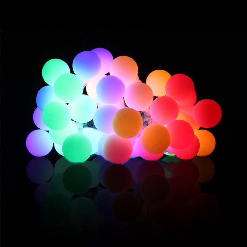 20/30 Balls Waterproof LED Fairy String Light w/Battery Box Party Xmas Wedding Outdoor Decor