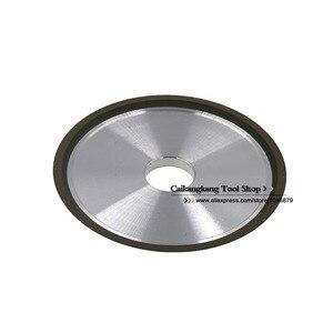 Алмазный шлифовальный круг из полимера с заостренными краями, 100% 150*32*16*5*3, угол 45 градусов для шлифовки зубьев пильного диска, сплавов