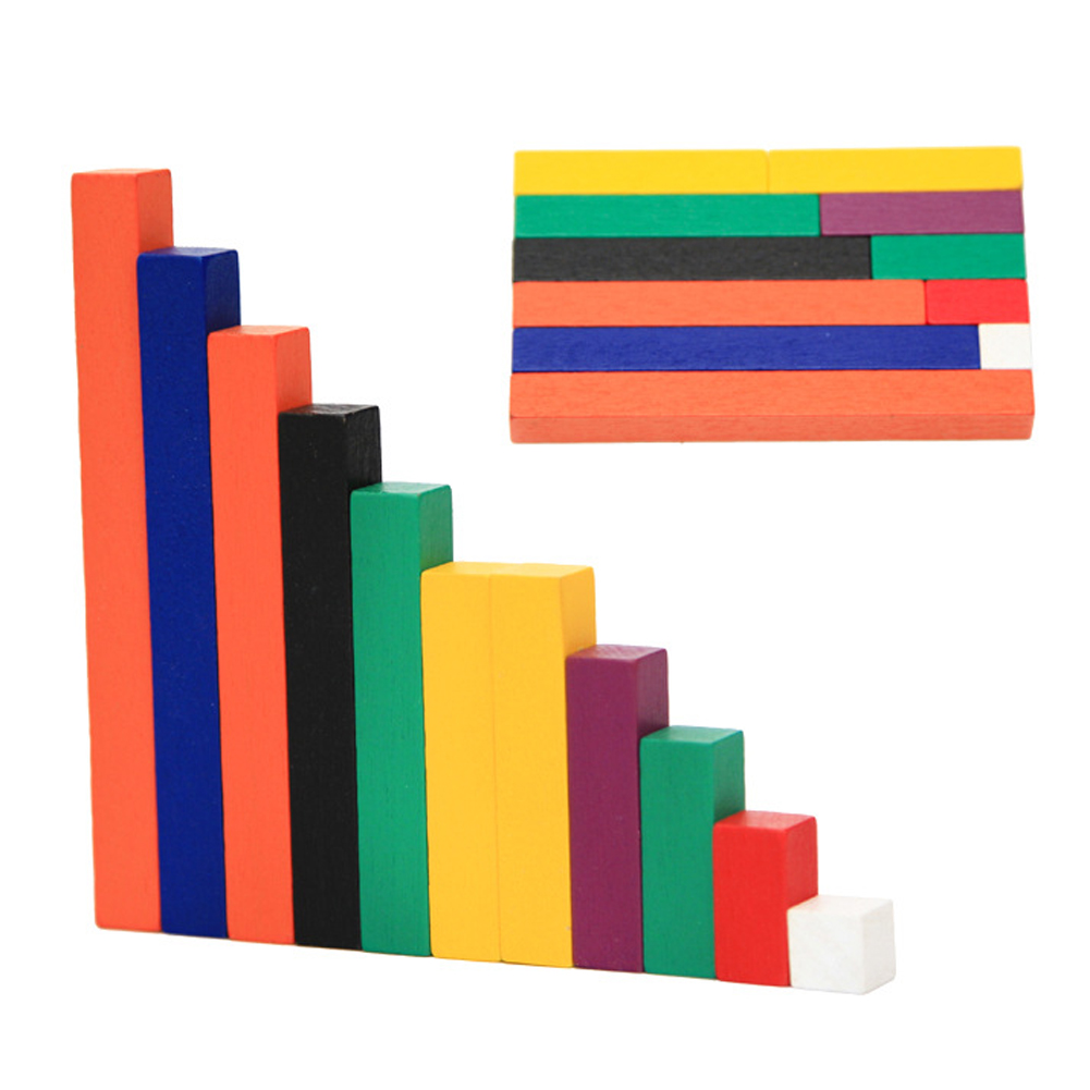 Kids Wooden Counting Toy Baby Number Counting Sticks Child Preschool Logic Math Learning Toy Gift wooden educational tool number building blocks number sticks kids math learning educational toy ao p