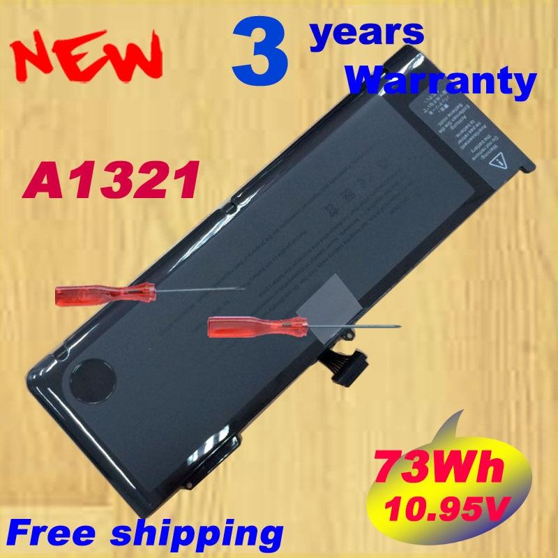 Free shipping Special A1321 Laptop Battery For Apple MacBook Pro 15 A1286 MB985 MC986 MC118 MC372 MC373 MC371 jinyushi for sim7100a mini pcie 4g 100% new