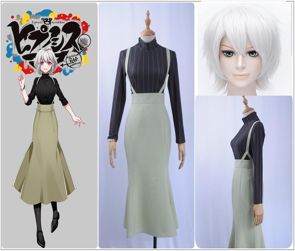 ba54a9f9af9872a Игры голос актер Nemu Aohitsugi косплэй костюм на заказ платье русалки  комбинезоны для девочек водолазка Вертикальная