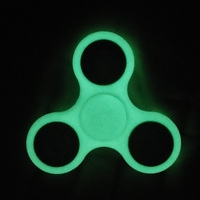 Luminous Tri Spinner Fidget Toy Plastic EDC Fidgets Hand Spinner For Autism And ADHD Children Adults