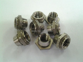 U-080-0   Self-locking  nuts,  Stainless steel, Nature ,PEM standard,in stock, Made in china,