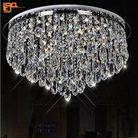 Новый дизайн светодиодный хрустальные люстры дома люстра заподлицо современный кристалл освещения