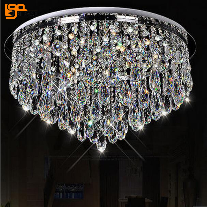 New Design Led Crystal Chandeliers Home Light Chandelier Flush Mount Modern Lighting