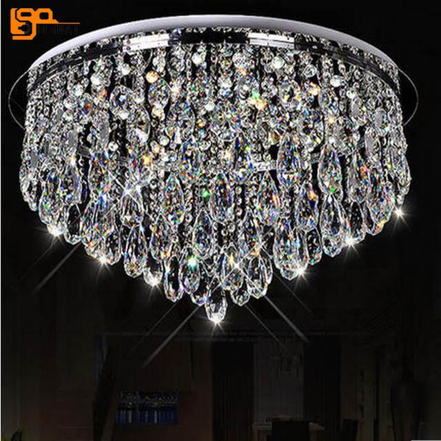 Us 425 42 11 Off New Design Led Crystal Chandeliers Home Light Chandelier Flush Mount Modern Lighting In From Lights