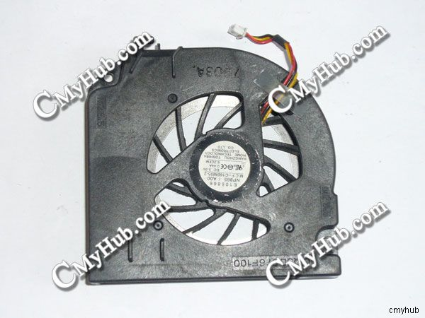 Well-Educated For Dell Precision M65 Latitude D830 Mcf-c16bm05 Dq5d576f100 3wire 3pin Dc5v 0.44a Cooling Fan To Win A High Admiration Computer & Office