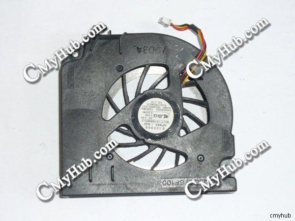 Ordelijk Voor Dell Precision M65 Latitude D830 Mcf-c16bm05 Dq5d576f100 3 Draad 3pin Dc5v 0.44a Koelventilator Limpid In Zicht