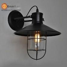 E26 / E27 старинные лампы стены лофт старинные мода прикроватные американский стиль бра для спальни, Гостиной
