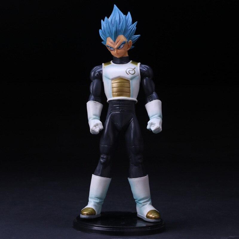 Anime Dragon Ball Z Vegeta Figurine Super Saiyan Bleu cheveux Vegeta Action PVC Figure modèle jouets collection de poupées cadeau juguetes chaude