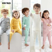 KIDS TALES New Summer time Youngsters Pajamas Cartoon Boy and Lady Pajamas Shirt + Pants 2 Pcs Set Youngsters Clothes Set Children Garments