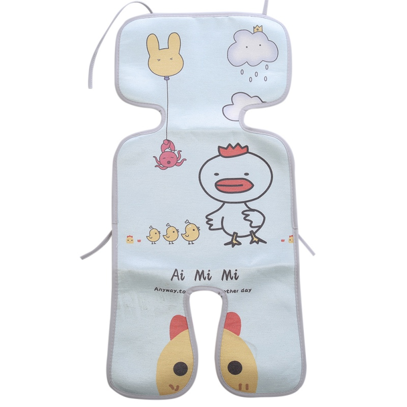 Newborn Baby Stroller Mat Summer Cool Infant Rattan Seats For Prams Push Chairs Child Kids Folding Breathable Cushion Pad New
