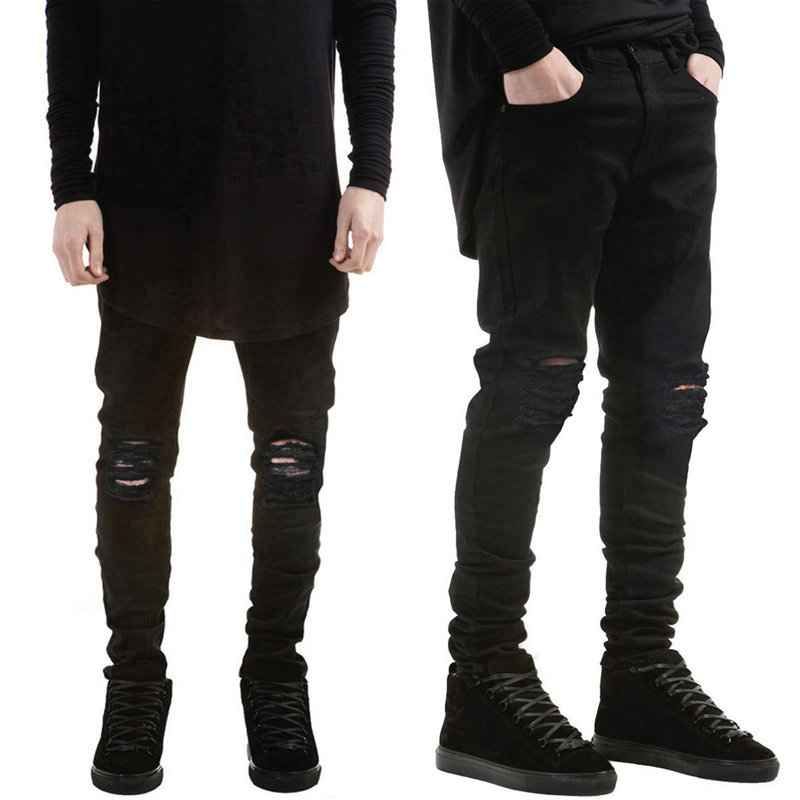 Compare Prices on Mens Black Ripped Skinny Jeans- Online Shopping ...