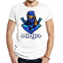 Ninja Fort Men Unisex Gaming T Shirt Tees ninja streamer twitchtv Free shipping Harajuku Tops t shirt Fashion Classic
