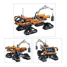 Compatível com Lego Technic Genuíno 42038 modelo 20012 913 pcs Aventura Polar Veículo blocos de construção de tijolos brinquedos para as crianças