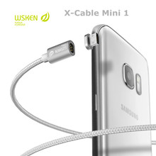 Original WSKEN X-Cable Mini 1 Metal Magnetic Cable For iPhone or Micro USB Smartphone