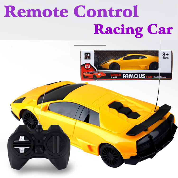 great quality 124 remote control racing car toys eletronic toys kids boys best gift 2 colors