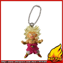 "100% Original BANDAI Gashapon PVC Toy Figure UDM THE BEST 14 – Broly Super Saiyan from Japan Anime ""Dragon Ball Z"""