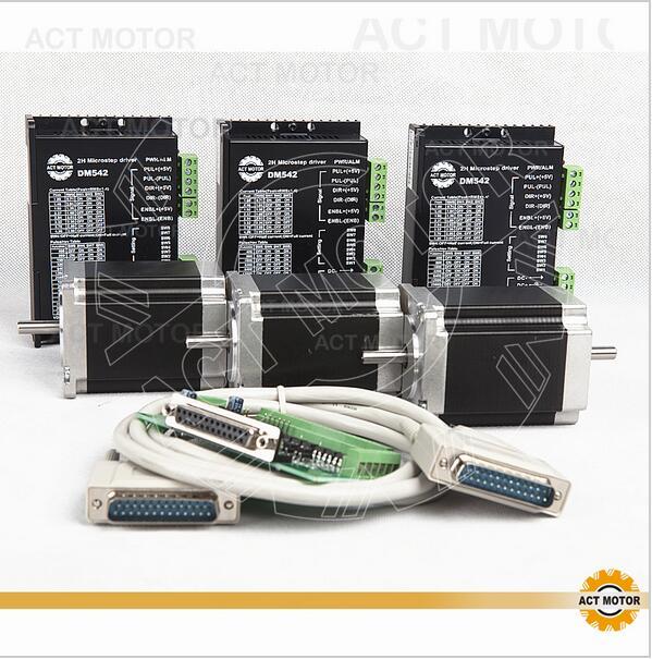 MOTORE ACT GmbH 4axis stepper driver motore dm542 4a 18-50v for NEMA 17 NEMA 23 CNC