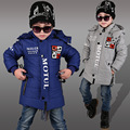 New Brand Boys Winter Jacket Coat Warm Cashmere Kids Hooded Outerwear Casual Baby Boy Down Parka Boys Jackets Children's Clothes