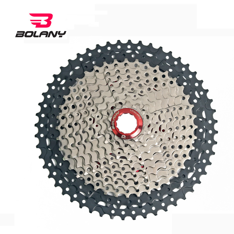 9 Speed Cassette 11-52T Wide Ratio Freewheel Mountain Bike MTB Bicycle Cassette Variable speed flywheel bicycle accessories9 Speed Cassette 11-52T Wide Ratio Freewheel Mountain Bike MTB Bicycle Cassette Variable speed flywheel bicycle accessories