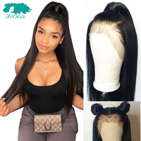 Brazilian 360 Lace Frontal Wig Straight Wigs Remy 360 Lace Frontal Human Hair Wigs Pre Plucked With Baby Hair for Women