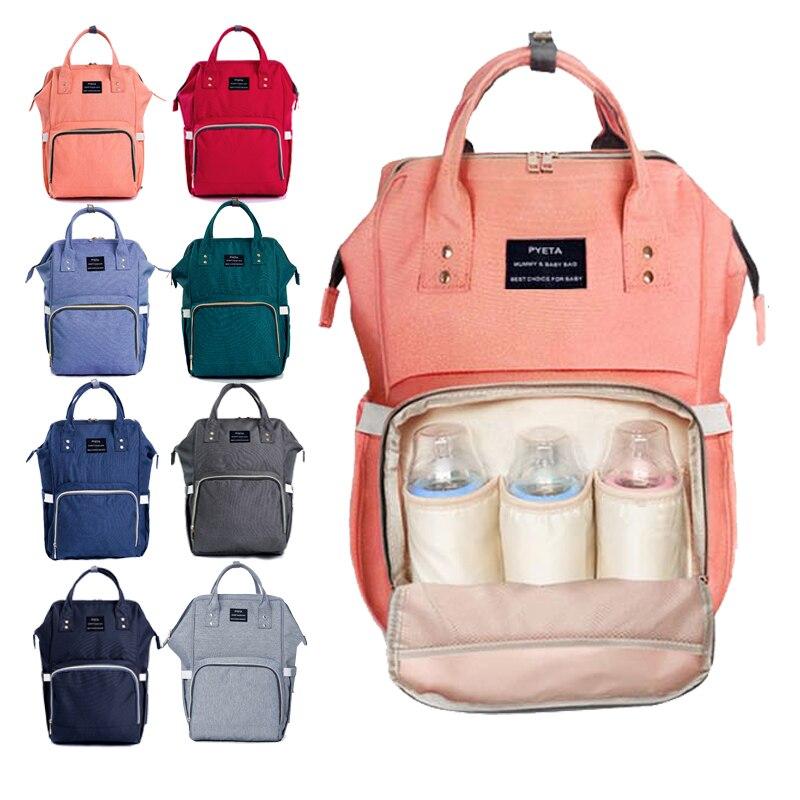 e6a358c07 PYETA Diaper Bag For Baby Stuff Baby Bag For Mom Travel Stroller Bag Nappy  Backpack Bolsa Maternidade Bag For Baby Care