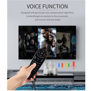 Image 4 - Wechip G30 Voice Afstandsbediening 2.4G Draadloze Air Mouse Microfoon Gyroscoop Ir Leren Voor Android Tv Box HK1 H96 max X96 Mini