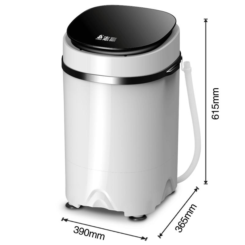 3.8kgs Mini Semi-automatic Family Washer Machine  Portable Washer And Dryer Portable Mini Washing Machine  Mini Laundry Machine