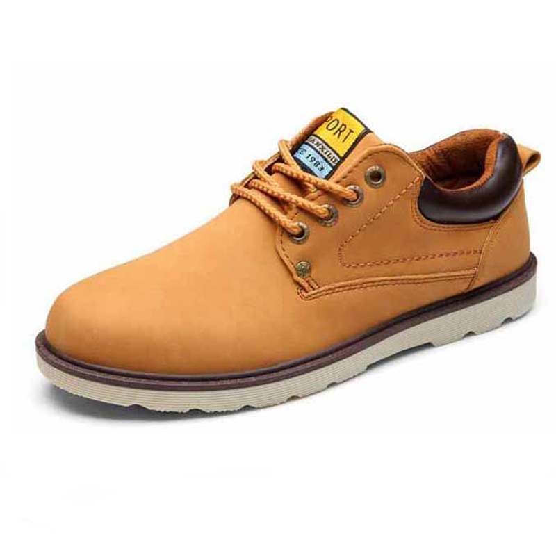 Man Casual Shoes Spring Summer Lace-up Style Pu Leather ...